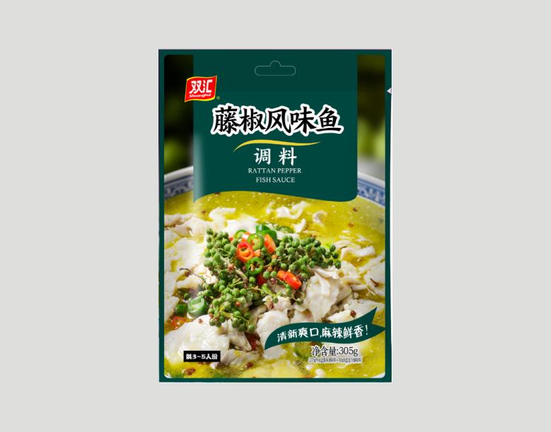 藤椒风味鱼调料